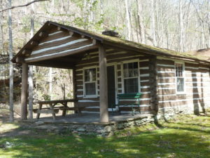 Watoga State Park cabin available for rental